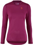 Product image for Scott Trail MTN Aero Womens Long Sleeve Jersey