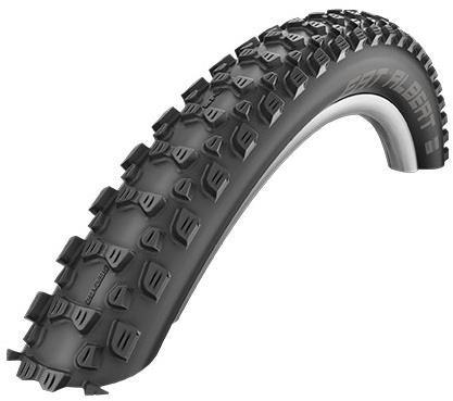 """Schwalbe Fat Albert Rear SnakeSkin Tubeless Easy PaceStar Evo Folding 24"""" Off Road MTB Tyre"""