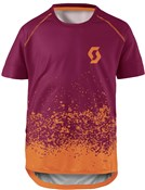 Scott Trail 60 Junior Short Sleeve Jersey
