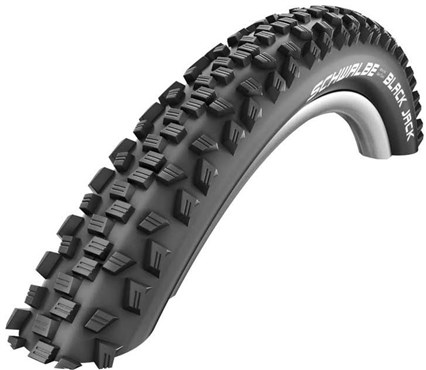 """Schwalbe Black Jack K-Guard SBC Active Wired 16"""" Kids Off Road Tyre"""