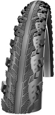 Schwalbe Hurricane Raceguard Dual Compound Performance Wired 700c Hybrid Tyre | Dæk