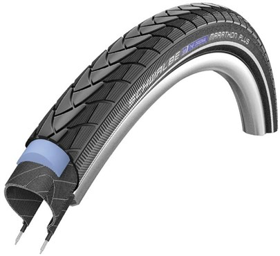 "Schwalbe Marathon Plus SmartGuard E-25 Endurance Performance Wired 26"" Urban MTB Tyre"