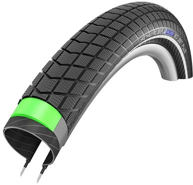 "Schwalbe Big Ben Plus Greenguard E-50 Endurance Performance Wired 20"" Folding Bike Tyre"