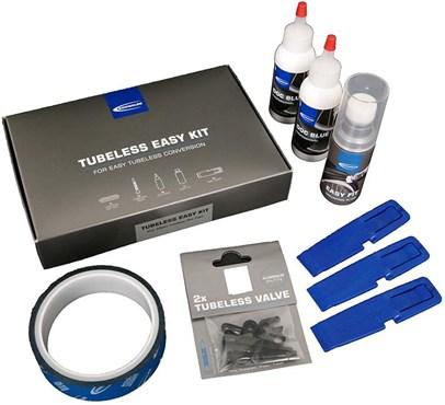 Schwalbe Tubeless Easy Kit | Lappegrej og dækjern