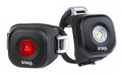Knog Blinder Mini Dot USB Rechargeable Twinpack Light Set