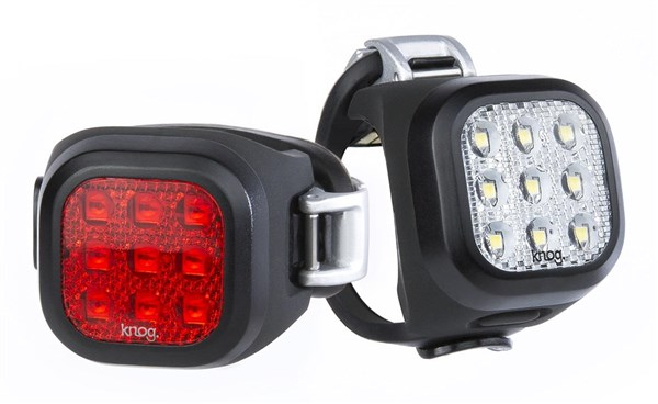 Knog Blinder Mini Niner Twinpack Light Set