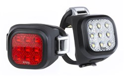 Knog Blinder Mini Niner USB Rechargeable Twinpack Light Set