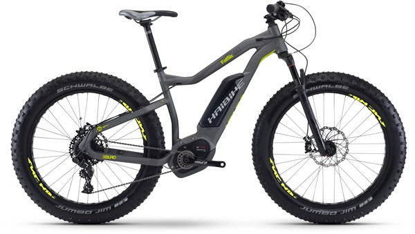 "Haibike xDuro FatSix 6.0 26""  2017 - Electric Mountain Bike"