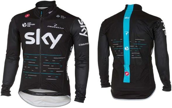 Castelli Team Sky Pro Fit Light Rain Jacket | Jakker