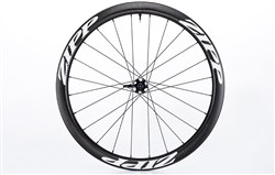 Product image for Zipp 303 Firecrest Carbon Clincher Tubeless Disc Front Road Wheels - 77D