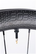 Zipp 303 Firecrest Carbon Clincher Tubeless Disc Front Road Wheel