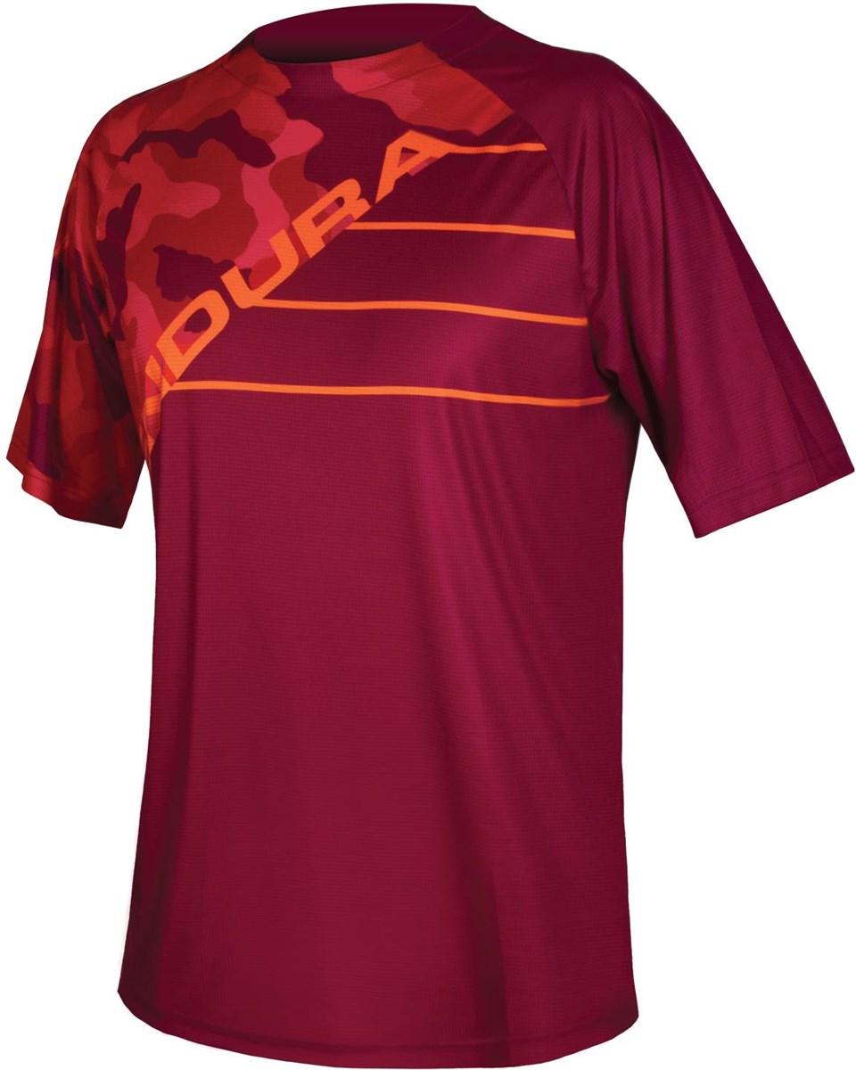 Endura SingleTrack Print Short Sleeve Jersey