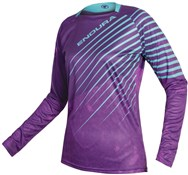 Product image for Endura MT500 Print Womens Long Sleeve Trail Jersey SS17