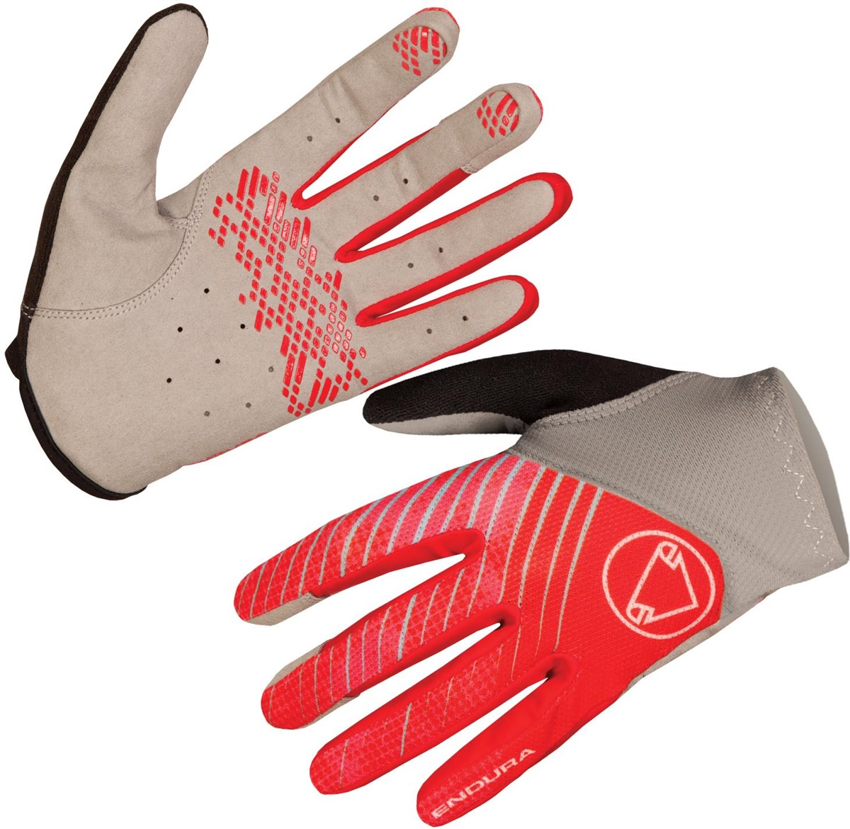 Endura Hummvee Lite Glove - red | Gloves