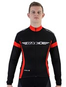 Halo Logo Road Cycling Long Sleeve Jersey