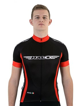 Halo Logo Road Cycling Short Sleeve Jersey