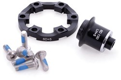 Halo 6D Road Disc Hub Adapters