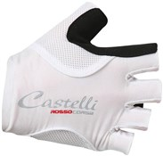 Castelli Rosso Corsa Pave Womens Short Finger Cycling Gloves