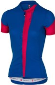 Product image for Castelli Spada Womens FZ Short Sleeve Cycling Jersey SS17