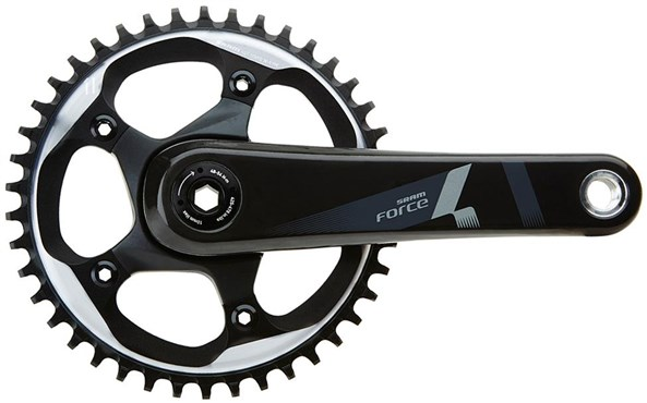 SRAM Force 1 X-Sync Crank Set (Cups/Bearings Not Included)
