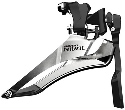 Sram Rival 22 Front Derailleur Yaw Braze-on With Chain Spotter