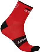 Product image for Castelli Rosso Corsa 6 Cycling Socks