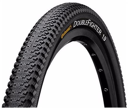 Continental Double Fighter III 700c Hybrid Tyre