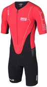 Huub Dave Scott Sleeved Long Course Red Triathlon Suit