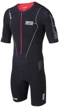 Huub Dave Scott Sleeved Long Course Black Triathlon Suit