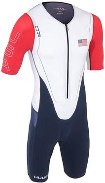 Huub Dave Scott Sleeved Long Course USA Triathlon Suit