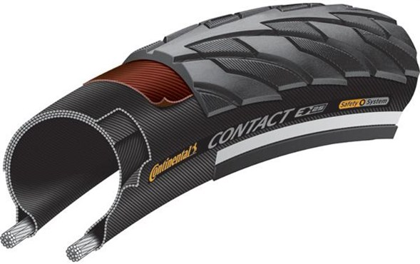 Continental Contact 700c Hybrid Tyre | Dæk