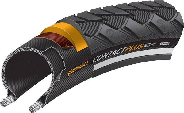 Continental Contact Plus Reflective 28 inch Tyre