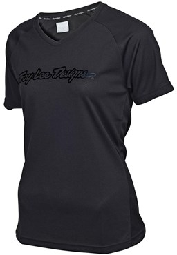 Troy Lee Designs Skyline Solid Cycling Womens Short Sleeve Jersey