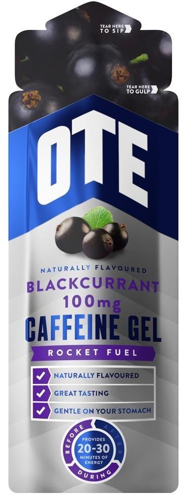 OTE Caffeine 100mg Energy Gels - 56g Box of 20 | Energy gels
