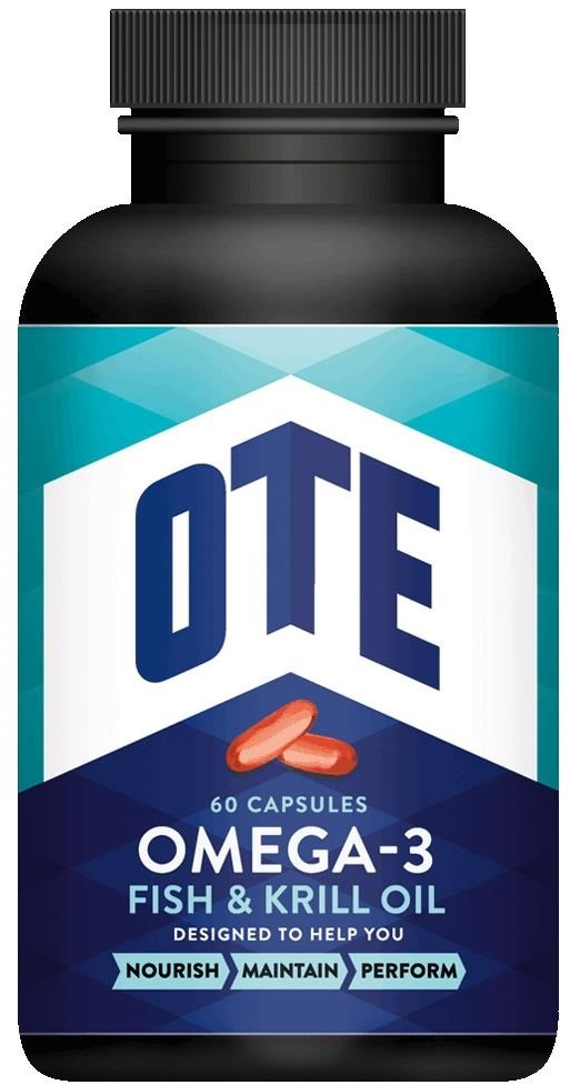 OTE Omega-3 Fish and Krill Oil 60 Tablets | polish_and_lubricant_component