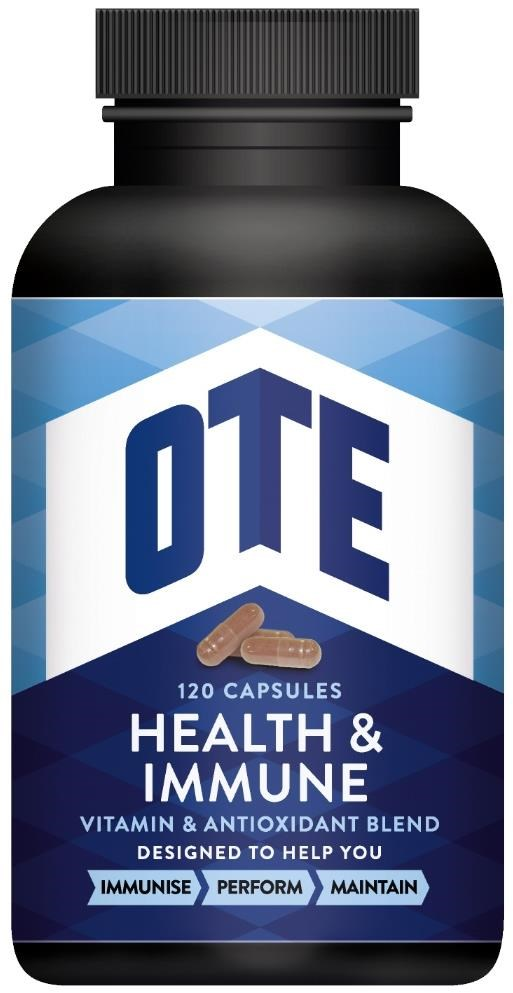 OTE Health and Immune Vitamin 120 Tablets | Misc. Nutrition