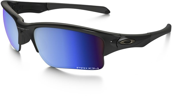 ee1286d8893 Oakley Quarter Jacket Prizm Deep Water Polarized Youth Fit Sunglasses