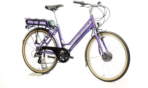 "Raleigh Pioneer E Low Step 26"" Womens - Nearly New - S - 2017 Electric Bike"