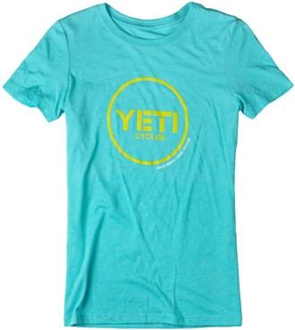 Yeti Button Ride Womens Short Sleeve Jersey