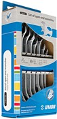 Product image for Unior Set Of Open End Wrenches In Carton Box - 110/1CS
