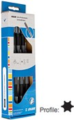 Unior Set Of Electronic Screwdrivers With TX Profile In Carton Box - 621CS7E