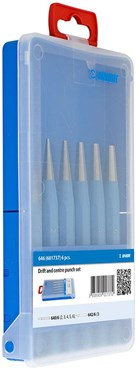Unior Drift and Centre Punch Set - 646