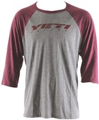 Product image for Yeti Baseball 3/4 Sleeve T-Shirt