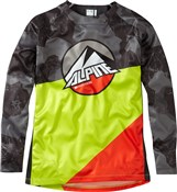 Madison Alpine Logo Youth Long Sleeve Jersey