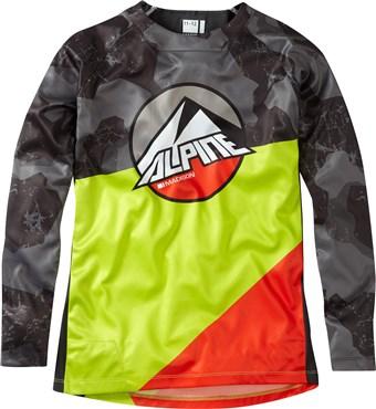 Madison Alpine Logo Youth Long Sleeve Jersey