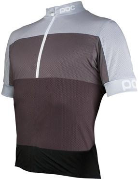 68add3654 POC Fondo Half Zip Womens Short Sleeve Jersey