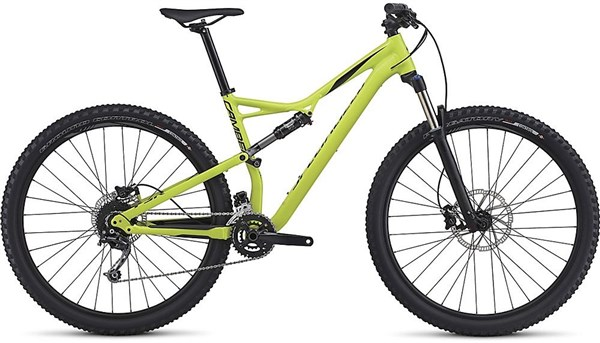 Specialized Camber 29 Mountain Bike 2017 - Trail Full Suspension MTB