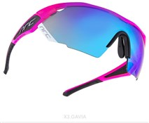 NRC X3 Cycling Glasses with Spare Clear Lenses Included