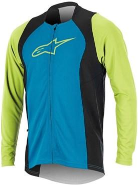 Alpinestars Drop 2 Full Zip Long Sleeve Cycling Jersey SS17