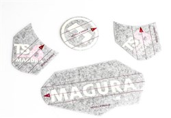Product image for Magura Decal Set TS6/TS8 For All Suspension For Variations